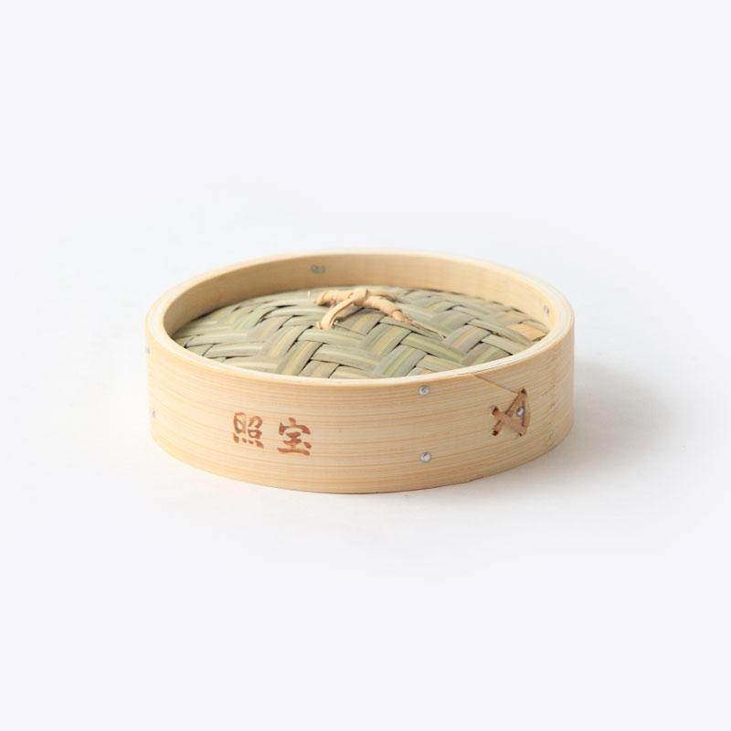 照宝 中華せいろ 蓋 竹製 φ15cm