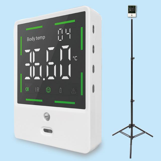 非接触デジタル温度計 専用三脚付き