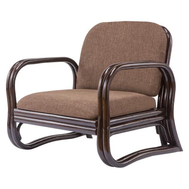 天然籐思いやり座椅子 ロータイプ