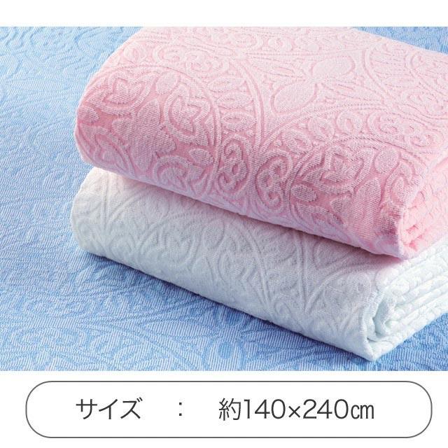 日本製 今治産ジャカード織タオルシーツ 3色組