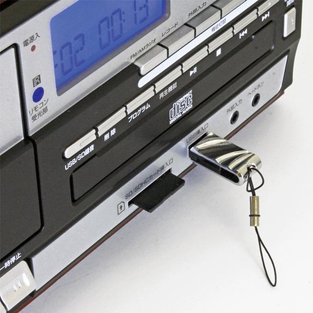 オーディオ・レコードプレーヤーIII 交換針3本付き