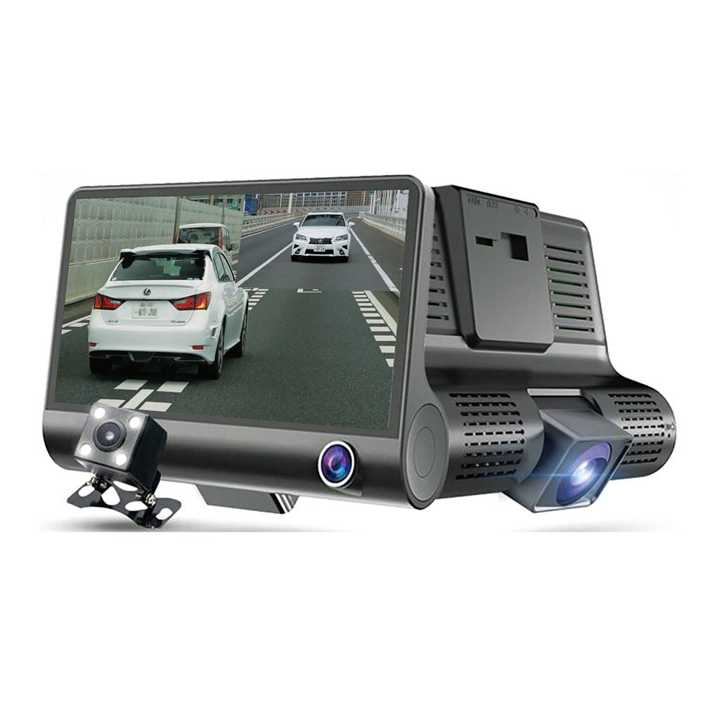 3画面同時記録ドライブレコーダー