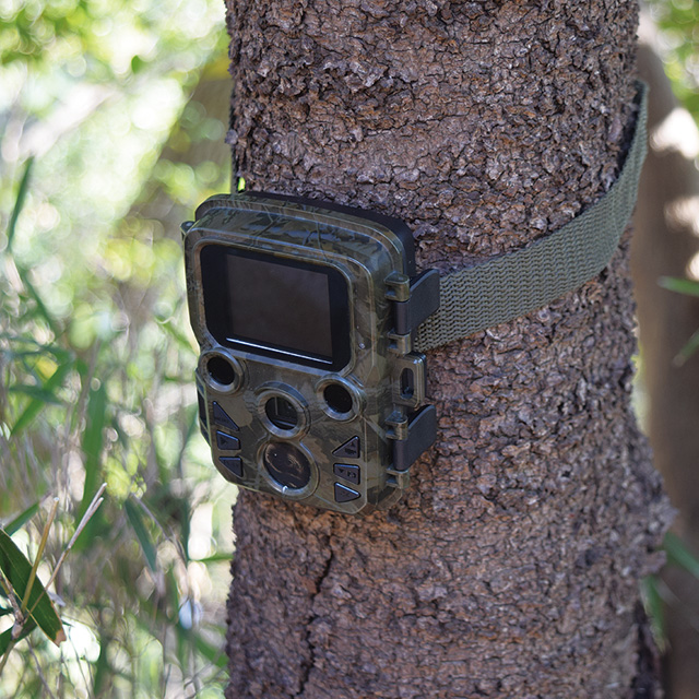 赤外線無人撮影カメラ