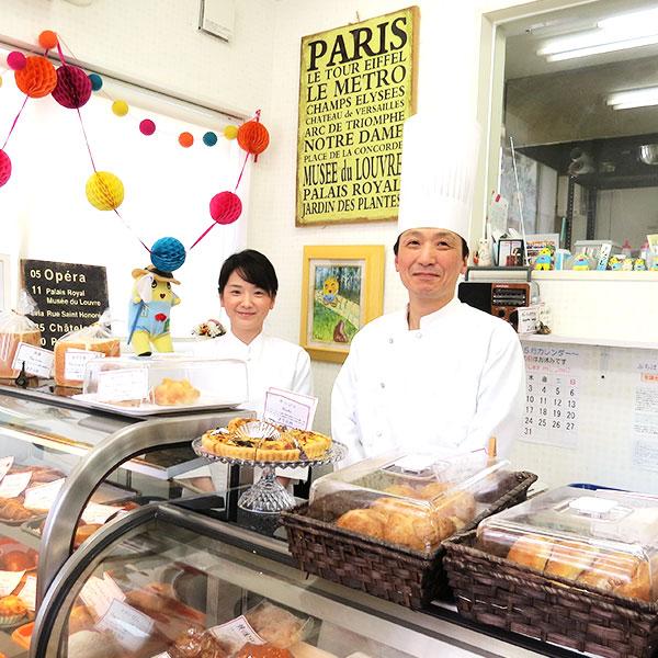 伊予柑のパウンドケーキ、伊予柑の抹茶パウンドケーキセット【PetitParis】