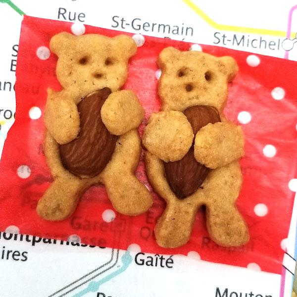 くまクッキー【PetitParis】(40個)