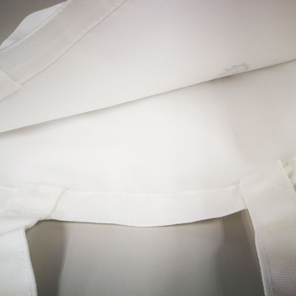 「ンョ゛ハー ゛」の公式トートバック(ホワイト)