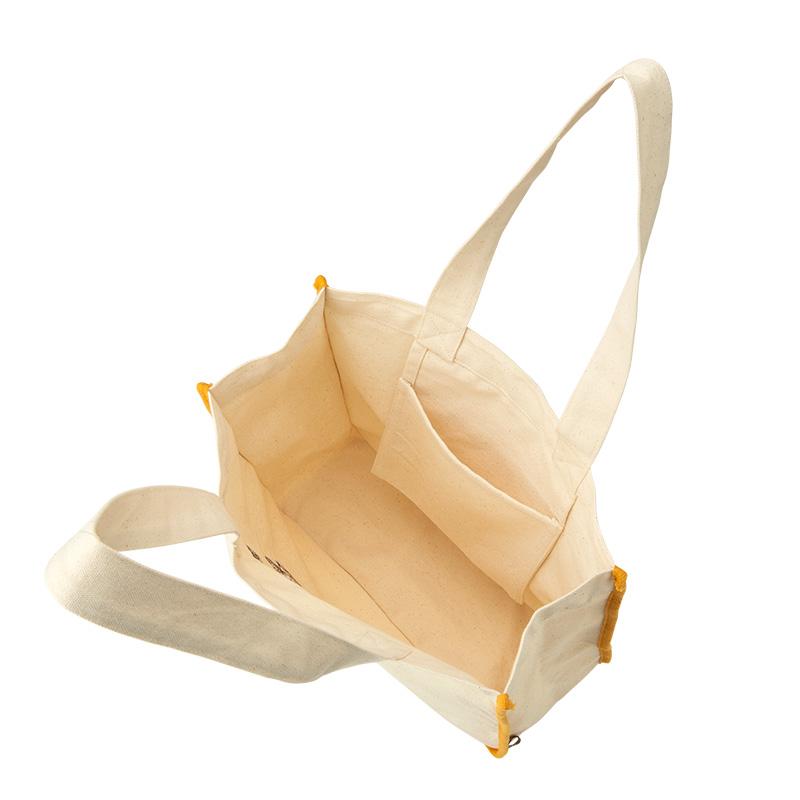 森のふなくま 刺繍トートバッグ