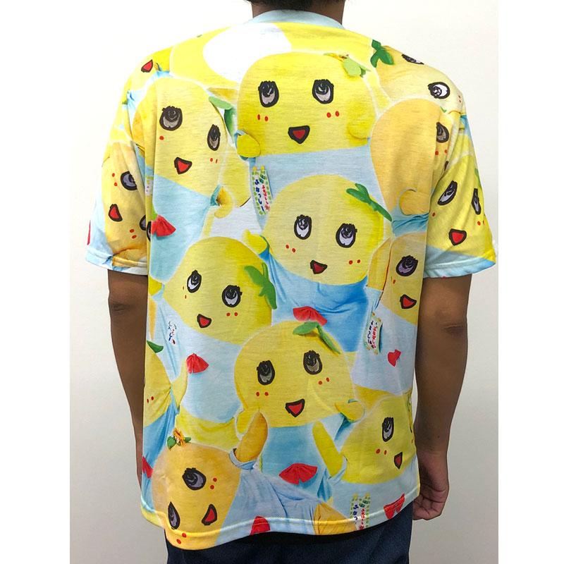 ふなっしーLAND 全面プリントTシャツ(ふなっしー)