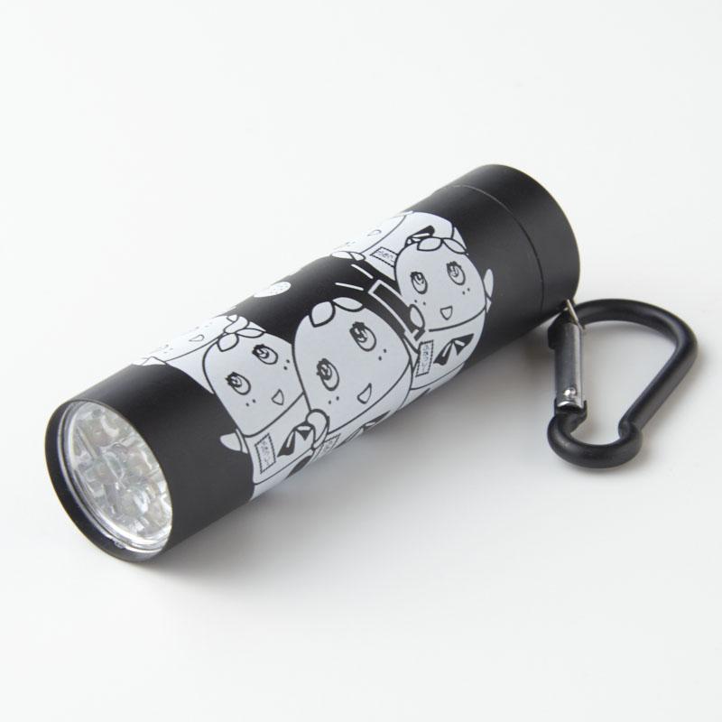 ふなっしーLAND LED9灯カラビナ付ライト(BK)