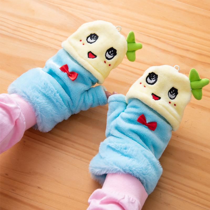 あったかふなっしー ふわふわ手袋