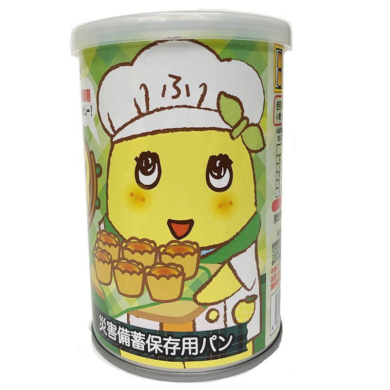 FLふなっしーパンの缶づめ_ふなっしープチベール味(災害備蓄用パン)