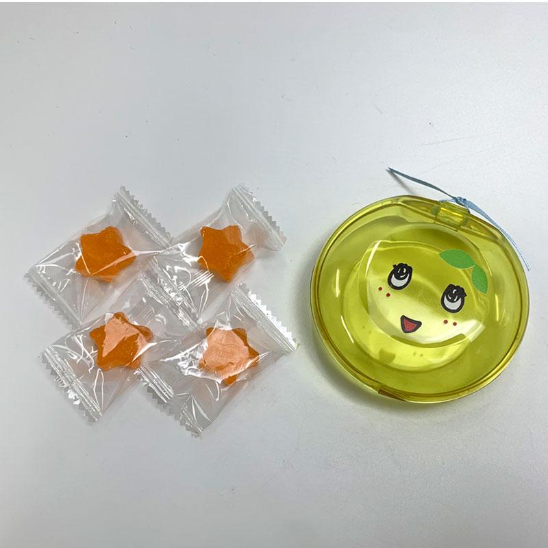 ふなっしーLAND ふなっしーケース入りキャンディ(オレンジ味)