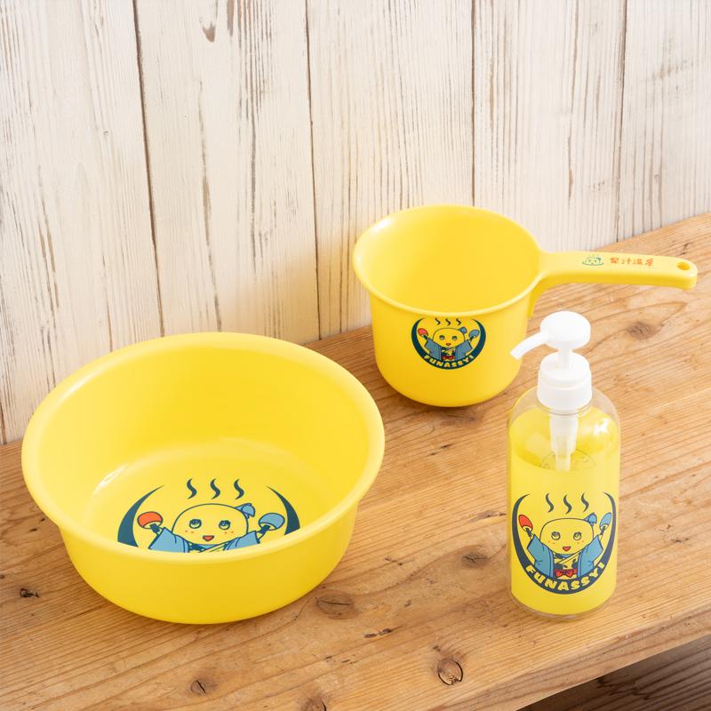 ふなっしー おいでませ梨汁温泉 洗面器