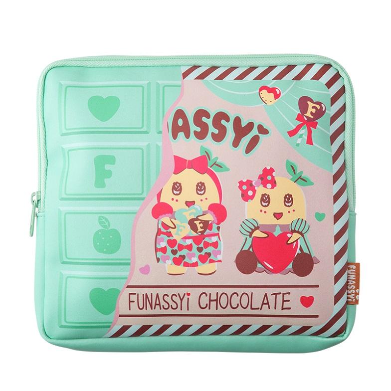chocolate FUNASSYI 板チョコフラットポーチ