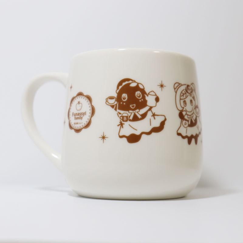 ふなっしーLAND マグカップ(梨ファミリー)