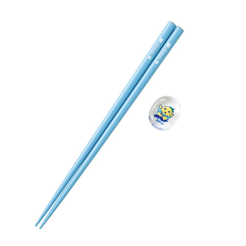 シンプルふなっしー お箸と箸置きセット
