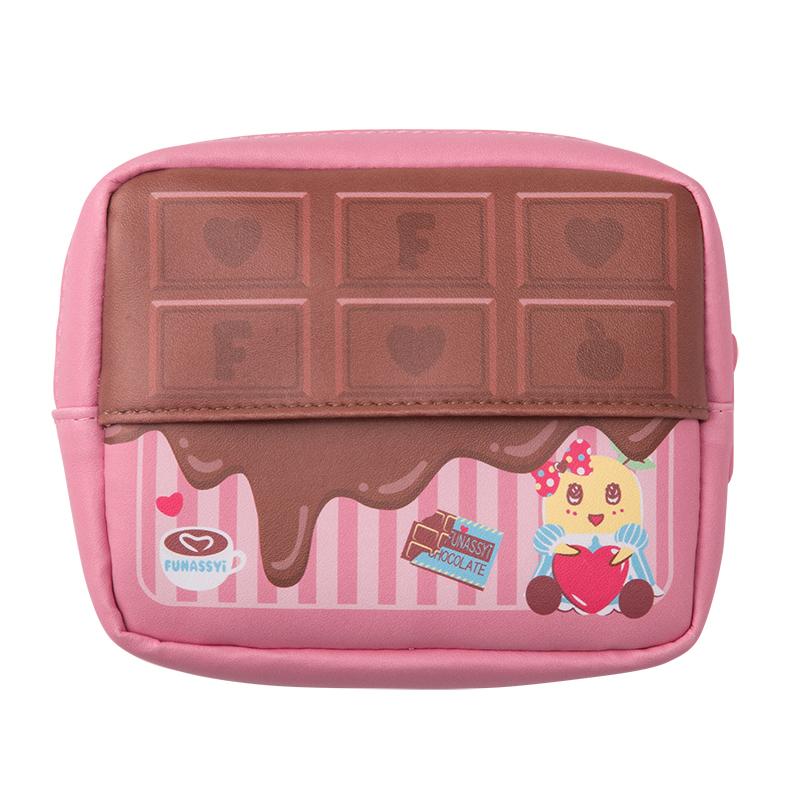 chocolate FUNASSYI 板チョコティッシュポーチ