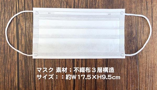 ふなっしーPVCポーチ (マスク3枚入)