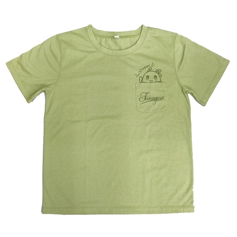 ポケットTシャツ_ふなごろー (グリーン)
