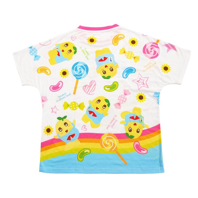 ふなっしーLAND 全面プリントTシャツ(キャンディー)