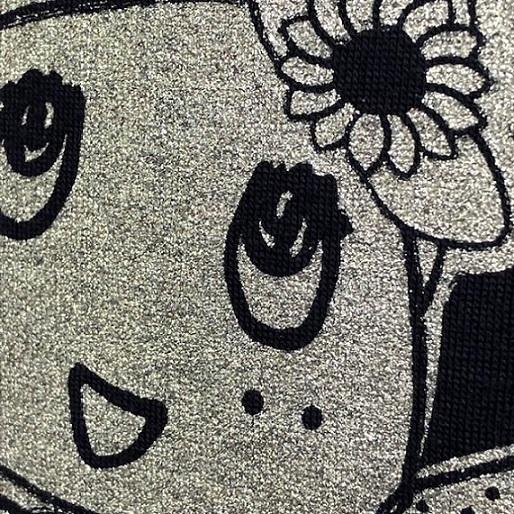 20北海道ふにゃっしーロングTシャツ Mサイズ(ネイビー)