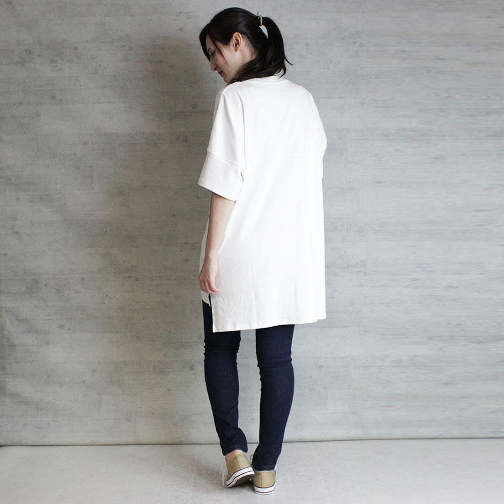 FLシングルジャージ半袖カットソー(ホワイト) パークふなごろー Mサイズ