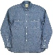 F3378 SELVEDGE CHAMBRAY<br> WORK SHIRT</br>