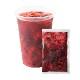 窒素冷凍フルーツソース ストロベリー&桑の実&ナタデココ 130g×120袋/1杯あたり@138円