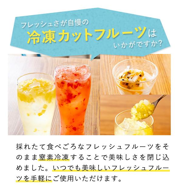500g×24袋 冷凍フルーツ8mmカットパイナップル 1袋540円
