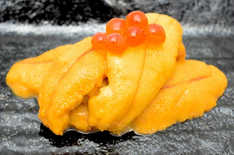 送料無料 生ウニ 生うに 冷凍生ウニ 無添加 300g・100g×3パック(ウニ うに 雲丹)