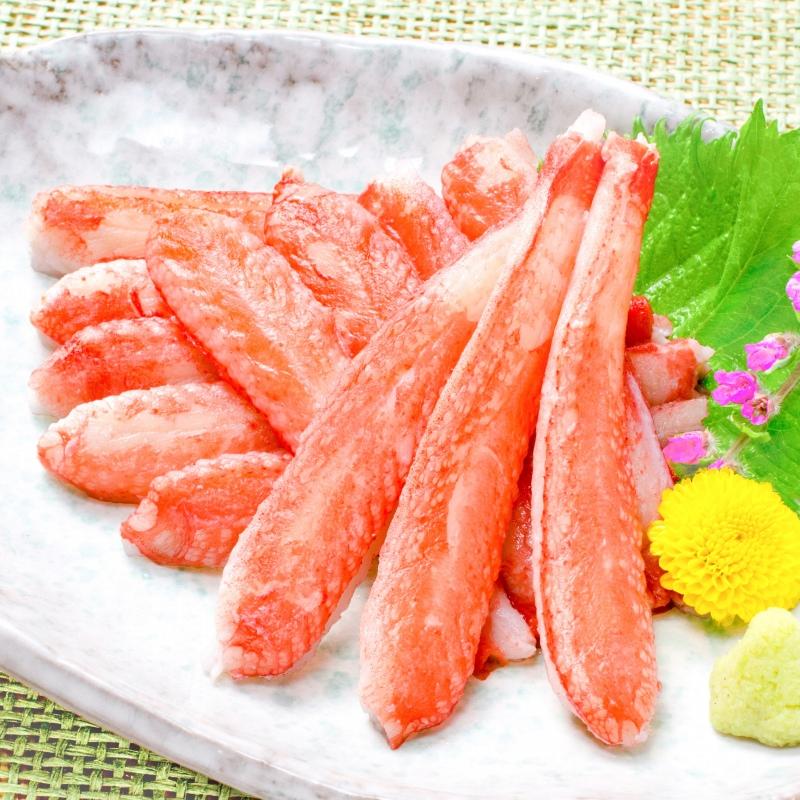 ズワイガニ 棒肉 1.5kg 20本入り ×5パック 合計100本