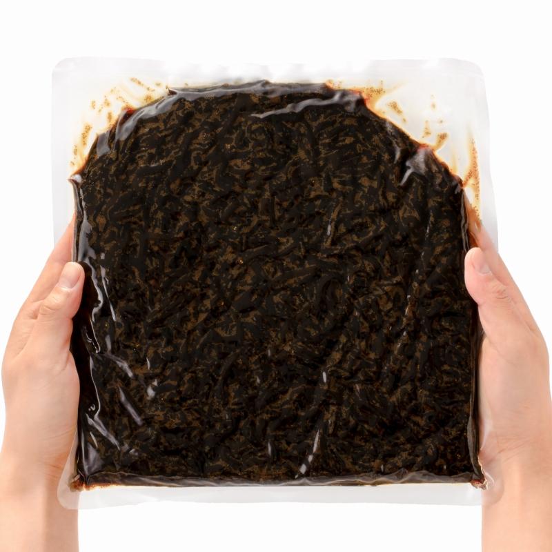 メール便 送料無料 ししゃもきくらげ 1kg×3パック しそ風味 しその実入り 佃煮 つくだ煮 ご飯のお供 おにぎりの具 おつまみに ししゃも きくらげ おとなのふりかけ 生ふりかけ