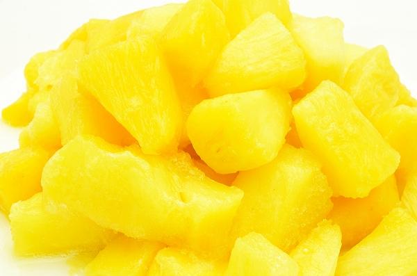 冷凍パイン(パイナップル2kg・500g×4パック)甘いパインをたっぷりと
