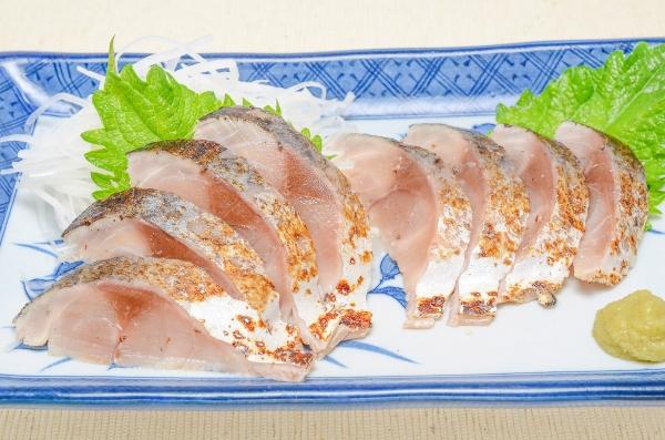 送料無料 金華サバ炙りしめ鯖(1枚×5パック)