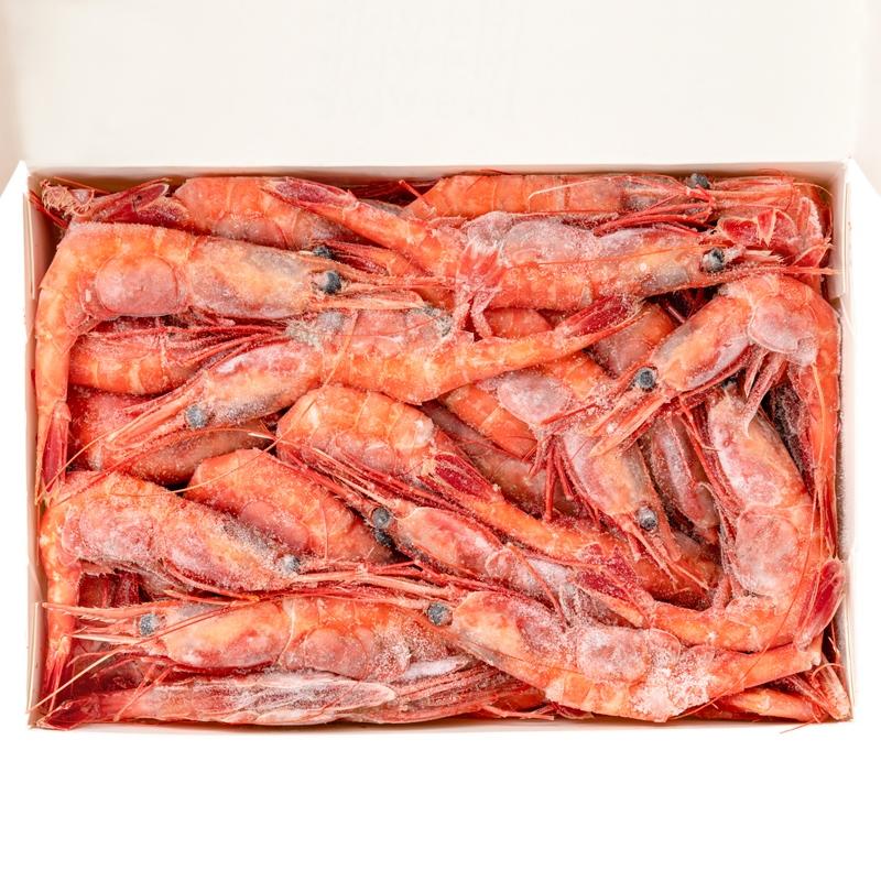 週末限定セール 甘海老 甘エビ 1kg お刺身用 大きい2Lサイズ 45尾前後 業務用(あまえび アマエビ)