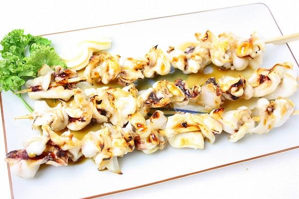 いか軟骨串 10本(800g) ×10パック 海鮮串 (いか イカ 烏賊)