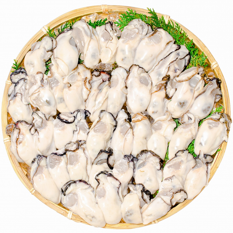 生牡蠣 2kg 生食用カキ(冷凍時1kg解凍後850g×2パック・冷凍むき身牡蠣・生食用)