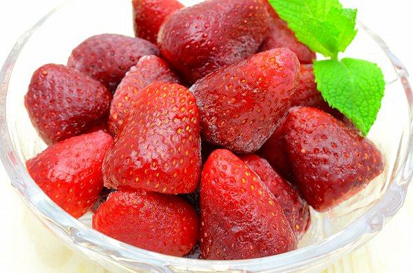 送料無料 ストロベリー 冷凍ストロベリー 500g×1パック 苺 冷凍フルーツ ヨナナス