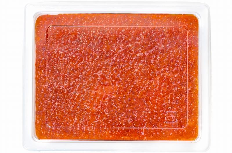 送料無料 塩イクラ 塩いくら 2kg 500g×4 鮭鱒いくら ロシア産の鱒いくらを老舗北海道メーカーが加工。