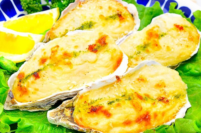 殻付き牡蠣グラタン 4個×3パック・合計12個
