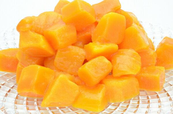 送料無料 冷凍マンゴー 500g×1パック カットマンゴー 冷凍フルーツ ヨナナス 冷凍果実