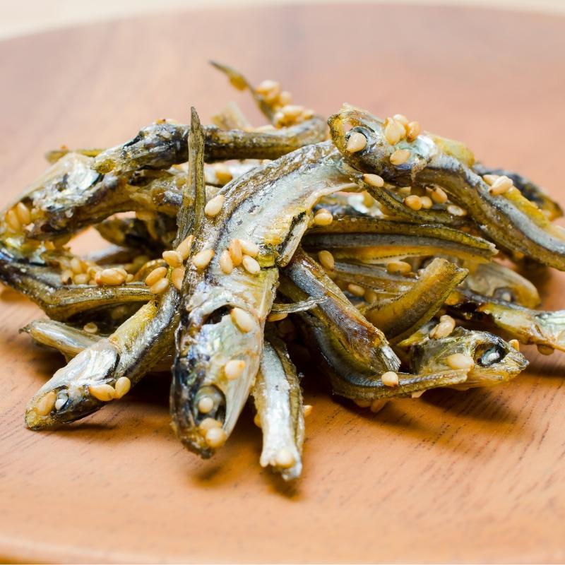 メール便 送料無料 王様のアーモンドフィッシュ アーモンド小魚(320g)