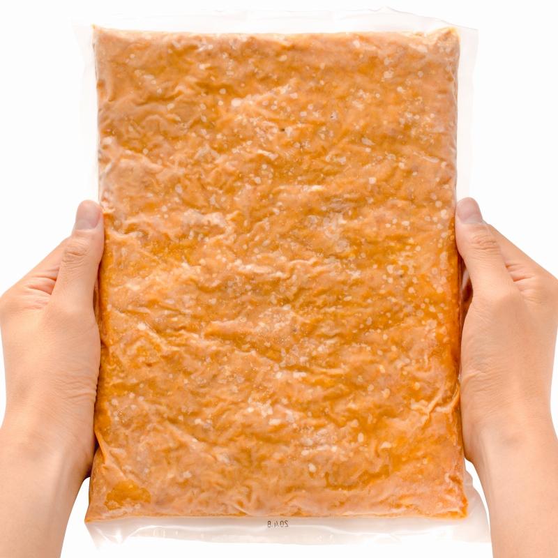 送料無料 大豆ミート ソイミート 大豆のお肉 旨みそ味 1kg