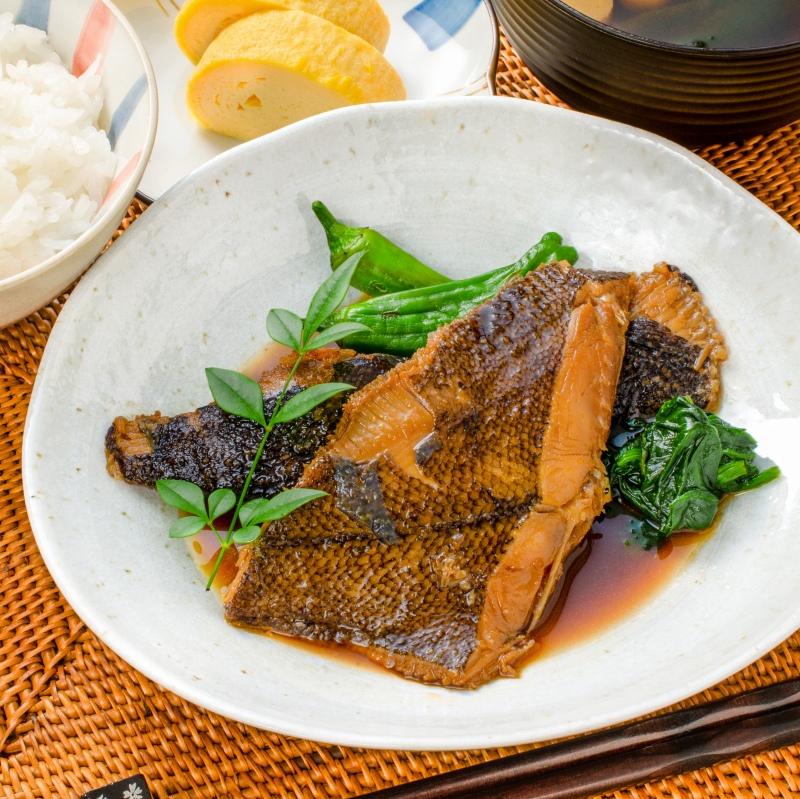 送料無料 煮魚セット 魚菜パックセット 銀鮭塩焼 さば塩焼 さば味噌煮 さば煮付け かれい煮付け 2枚×1パック