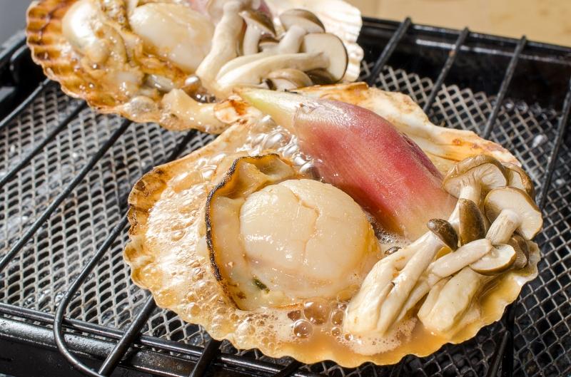 送料無料 ホタテ ほたて 特大 片貝ほたて 40枚 10枚×4袋 (殻付きほたて 帆立 貝 バター焼き 浜焼き バーベキュー BBQ 業務用 ギフト)