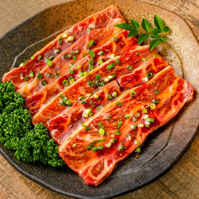 牛骨付きカルビ 焼肉 合計2kg 1kg×2パック 業務用 牛肉 骨付きカルビ