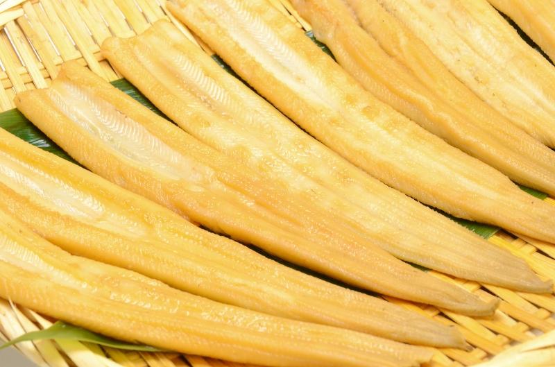 送料無料 煮穴子 活じめやわらか煮穴子(合計40尾 8尾×5パック 合計1.25kg 特大20cm前後)  煮あなご 煮アナゴ