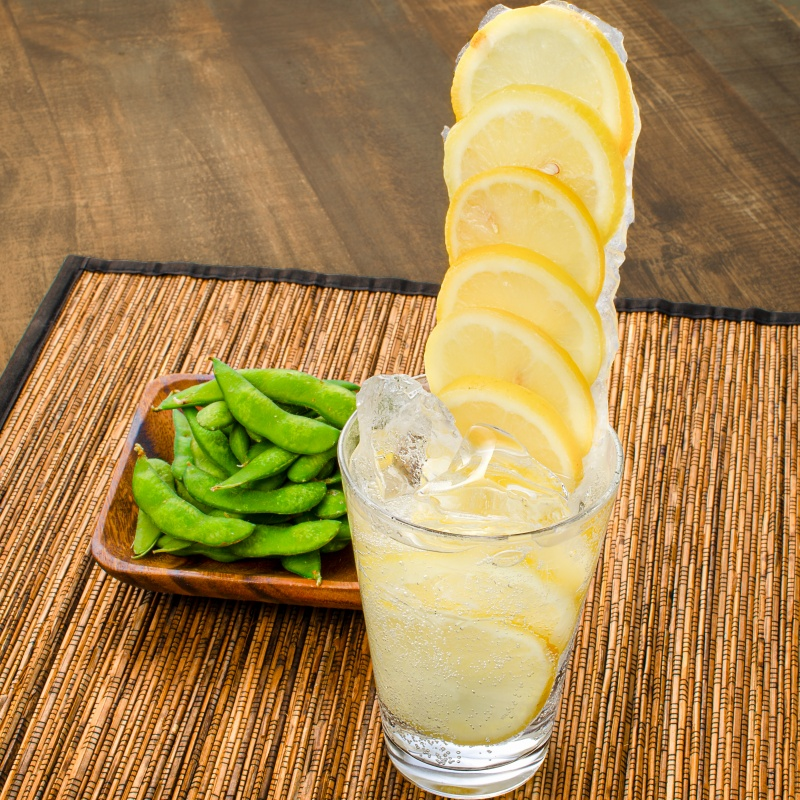 送料無料 冷凍レモン スライス 500g ×1パック