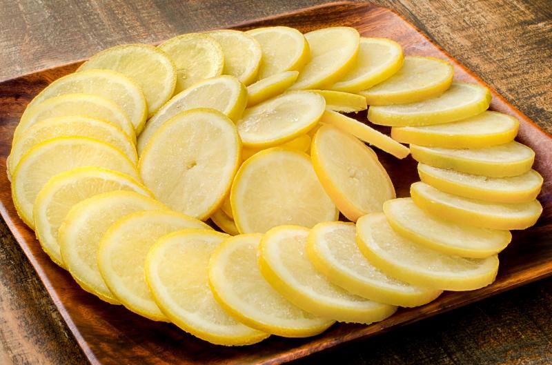 冷凍レモン スライス 500g×2パック 合計1kg