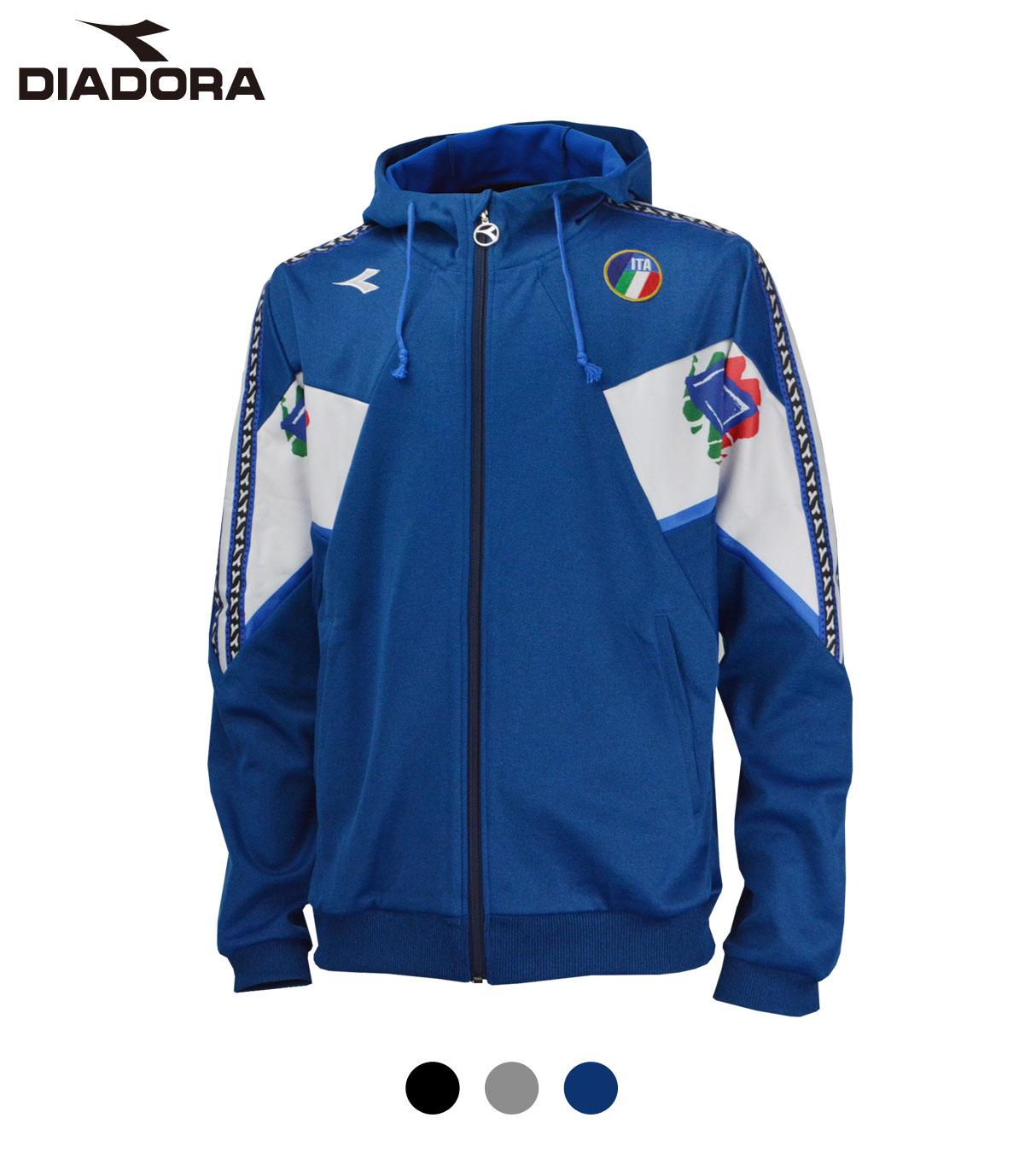 DIA011 DIADORA CLASSICS ストレッチフーディジャケット
